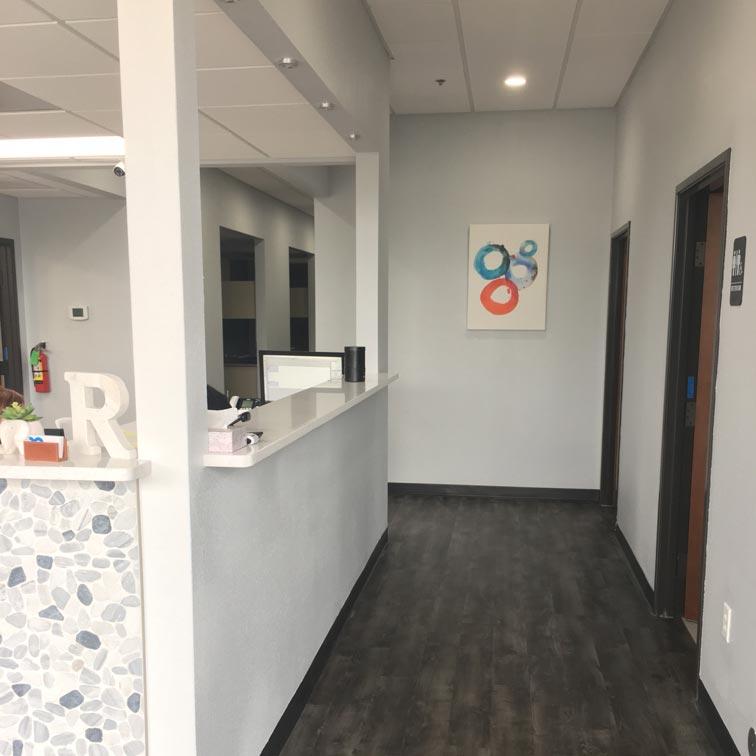 Rivery Dental Hallway