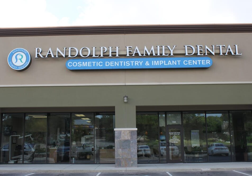 Randolph Family Dental View from the exterior